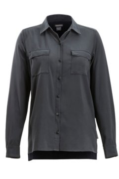 Kizmet LS Shirt, Black, medium