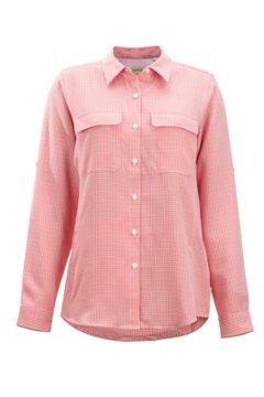 Sovita LS Shirt, Spiced Coral, medium