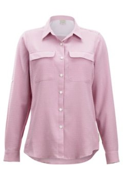 Sovita Long Sleeve Shirt, Rosebay Check, medium