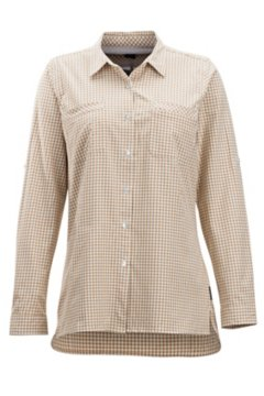 Palata Check LS Shirt, White/Scotch, medium