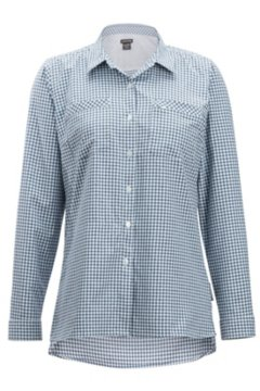 Palata Check LS Shirt, White/Navy, medium