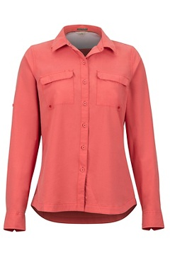 Missoula LS Shirt, Spiced Coral, medium