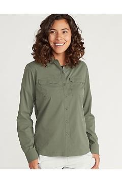 Women's Missoula Long-Sleeve Shirt, Crocodile, medium