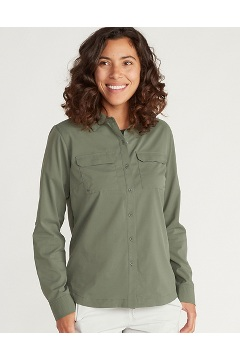 Women's Missoula Long-Sleeve Shirt, Crocodile, medium