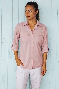 Women's Missoula Long-Sleeve Shirt, Pink Sand, medium