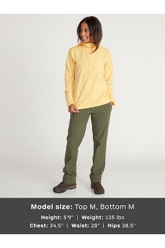 Women's Wimico Hoody, Trellis, medium