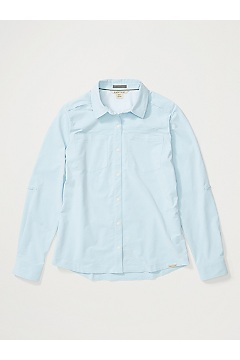 Women's Balandra Long-Sleeve Shirt, Blue Bell, medium
