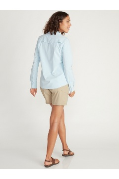 Women's Balandra Long-Sleeve Shirt, Sleet, medium