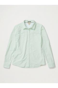 Women's Balandra Long-Sleeve Shirt, Herbal Mist, medium