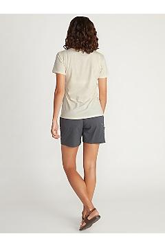 Women's Voyager Short-Sleeve T-Shirt, Vellum Heather, medium