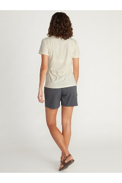 Women's Voyager Short-Sleeve T-Shirt, Vellum Heather, medium