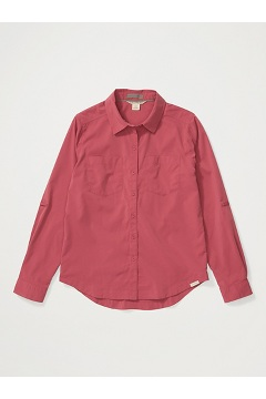 Women's Ballina UPF 50 Long-Sleeve Shirt, Tea Rose, medium
