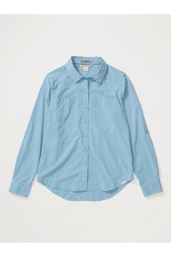 Women's Ballina UPF 50 Long-Sleeve Shirt, Blue Star, medium