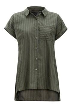 Lencia SS Shirt, Nori, medium
