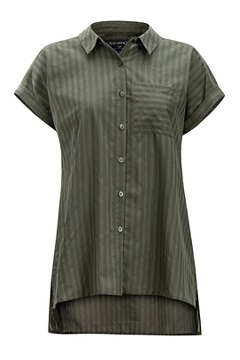 Lencia SS Shirt, Nori, medium