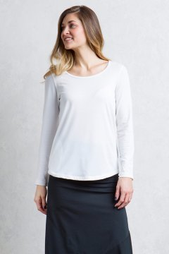 Wanderlux Scoop Neck, Alyssum, medium