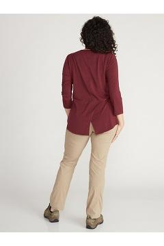 Women's Wanderlux 3/4 Sleeve Shirt, Vineyard, medium