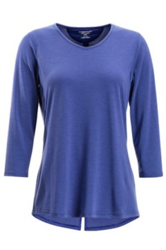 Wanderlux 3/4 Sleeve Shirt, Bellflower, medium