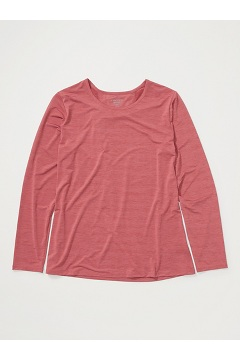 Women's Sol Cool Kaliani Long-Sleeve Shirt, Tea Rose Heather, medium