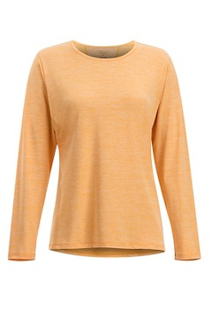Sol Cool Kaliani LS Shirt, Pale Pumpkin, medium