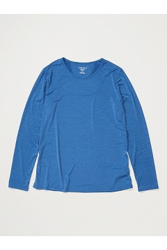 Women's Sol Cool Kaliani Long-Sleeve Shirt, Admiral Blue Heather, medium