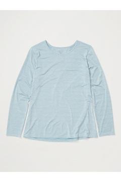 Women's Sol Cool Kaliani Long-Sleeve Shirt, Blue Star Heather, medium