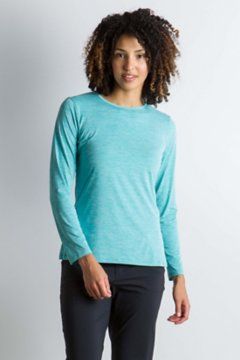 Sol Cool Kaliani L/S, Saltwater Heather, medium