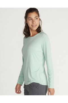 Women's Sol Cool Kaliani Long-Sleeve Shirt, Herbal Mist Heather, medium