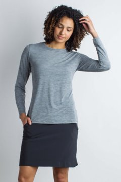 Sol Cool Kaliani L/S, Carbon Heather, medium