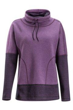 Cevoli Pullover, Eggplant Heather, medium