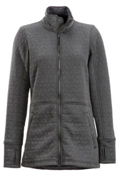 Kelowna Full Zip, Black Heather, medium