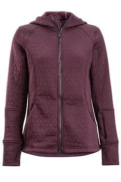 Women's Kelowna Hoody, Eggplant, medium