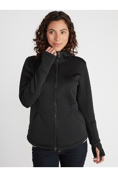 Women's Kelowna Hoody, Black, medium