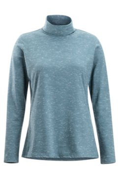 Wanderlux Marl Turtleneck, Adriatic Heather, medium