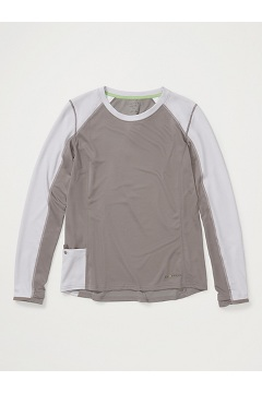 Women's Hyalite Long-Sleeve Shirt, Slate/Lilac Grey, medium