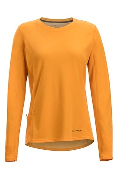 Women's Hyalite Long-Sleeve Shirt, Pale Pumpkin, medium
