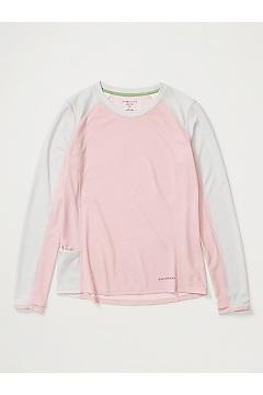 Women's Hyalite Long-Sleeve Shirt, Pink Sand/Oyster, medium