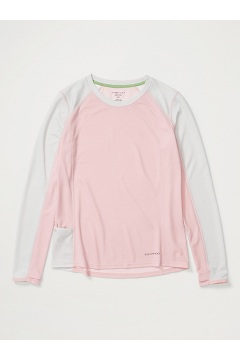 Women's Hyalite Long-Sleeve Shirt, Pink Sand/Oyster, medium