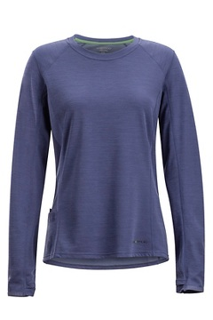Women's Hyalite Long-Sleeve Shirt, Blue Heron, medium