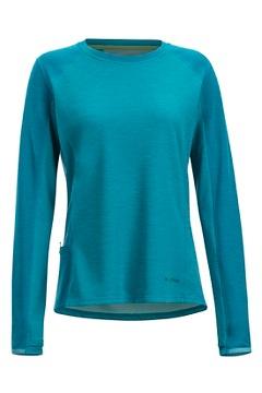 Women's Hyalite Long-Sleeve Shirt, Mystic Blue/Algiers Blue, medium