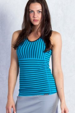Wanderlux Stripe Tank, Deep Sea, medium