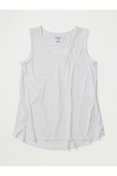 Women's Wanderlux Tank Top, White, medium