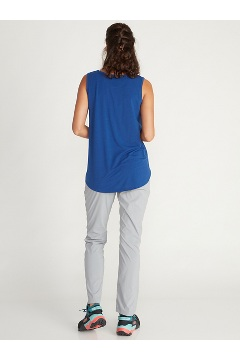 Women's Wanderlux Tank Top, Road Heather, medium