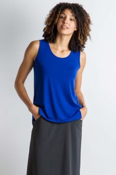 Wanderlux Tank, Blue Glaze, medium