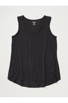 Women's Wanderlux Tank Top, Black, medium