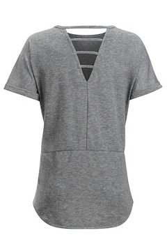 Wanderlux Mijas SS Shirt, Road Heather, medium