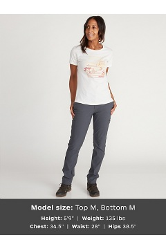 Women's Escape Short-Sleeve T-Shirt, Vellum Heather, medium