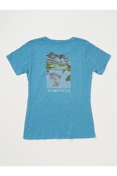 Women's Escape Short-Sleeve T-Shirt, Atlantic Heather, medium