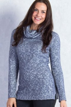 Lorelei Infinity Cowl Neck, Carbon Heather, medium