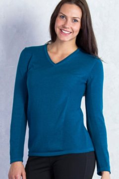 Milena V Neck, Biscayne, medium